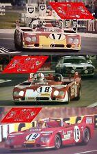 Calcas Alfa Romeo T33 TT3 Le Mans 1972 1:32 1:24 1:43 1:18 T33TT3 33 decals