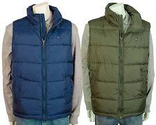 Tommy Hilfiger Men's Puffer Blue Olive Warm Vest Jacket Classic Fit 154AN791