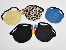 Hundemütze Hundekappe Basecap - Varianten - Leopard schwarz Jeans beige - S M XL