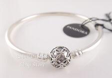 PATTERNS OF LOVE Authentic PANDORA Bangle Bracelet 597137 PICK Sz & PACKAGING