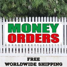 Money Orders Advertising Vinyl Banner Flag Sign Credit Finance Payment Bank