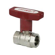 """ISO-T Kugelhahn 1/2"""" - 2"""" für Heizung, Druckluft und Wasser, bis 120°C, 20 bar"""