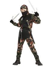 Costume Carnevale Bambino Soldato Ninja PS 24938