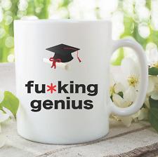 Funny Novelty Mugs Genius Graduation University Students Mugs Gift Cup WSDMUG842
