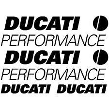 MAXI KIT DUCATI PERFORMANCE Stickers Autocollants Adhésifs Moto Haute Qualité