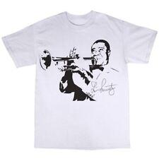 Louis Armstong T-Shirt 100% Cotton Jazz Wonderful world La Vie En Rose
