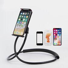 Flexible Hand Free Phone Cell Phone Holder Mount Universal Neck Hanging Bracket