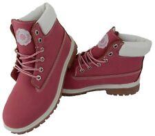 Damen Boots Winterboots Kunstleder rosé/pink Textilinnenfutter Größe 36-40 Neu!