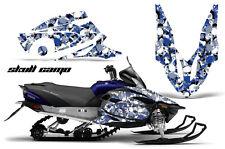 YAMAHA VECTOR GRAPHIC KIT AMR RACING SNOWMOBILE SLED WRAP DECAL 12-13 SKULL CAMO