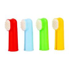 Finger Zahnbürste Hundezahnbürste für Hunde Massagebürste für Katzen Hund Katze