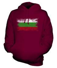 BULGARIA DISTRESSED FLAG UNISEX HOODIE TOP BULGARIYA BULGARIAN BALGARIJA