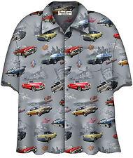 Buick Classics Camp Shirt  Licensed by General Motors