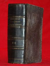 Libro Antico 1885 Dictionnaire des Assurances Terrestres Pouget Paris