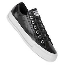 Converse Damen Chucks Lo schwarz glänzend CTAS OX patent Leather 5580002C
