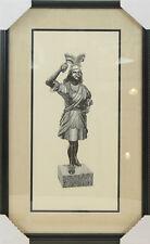 Bob Golledge Signed Art   Indian Etching   Professionally Framed