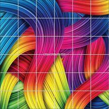 Adesivi piastrelle parete decocrazione Design multicolore 1896