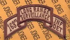 163rd Inf Det LRS Airborne Ranger 1 Cavalry Div patch D