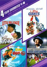 4 Films Hometown Legend Little Big League Little Giants Surf Ninjas Movies DVDs