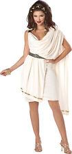 Toga Classic Dlx Women Adult Costume Off White Tunic Dress California Costumes