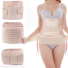 Lady Postpartum Support Recovery Belly/Waist/Pelvis Belt Shaper Slim Body 3 in 1