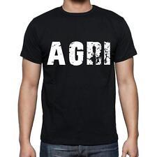 agri Tshirt, Homme Tshirt, Col Rond Homme T-shirt, Noir, Cadeau