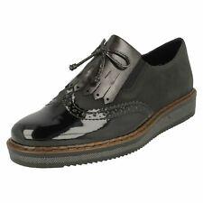 Ladies Rieker Loafer Inspired Shoes - N0372