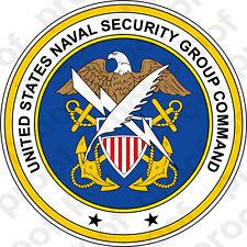 STICKER U.S. Naval Security Group Command (NAVSECGRU)