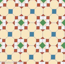 Dolls House Floor Panel Flooring Wallpaper Satin or Matte Card 1/12 - 1/24 #16