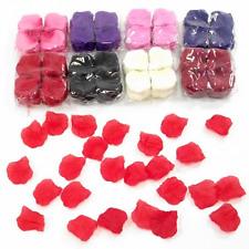 1000 Silk Rose Petals-Flower Confetti-Celebration Wedding Decoration-Choose Col