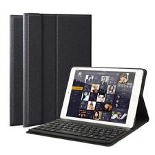 """iPad 2018 6th Gen 9.7"""" QWERTZ DEUTSCHE Bluetooth Tastatur Hülle Keyboard Cover"""
