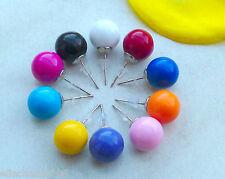 Ohrstecker Perle Rund Kugel Ohrringe Ohrschmuck Acrylperlen 10 Farben Farbwahl
