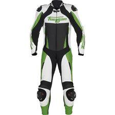 Furygan COMPLETO APEX 1 PZ Kawasaki Verde/Bianco/Nero Motocicletta pelle