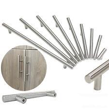 Solid Stainless Steel Kitchen Cabinet Drawer Door Handles Pull Bar Hardware HL1