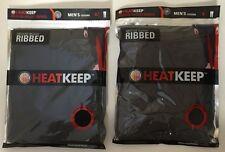 HEAT KEEP HEATKEEP MEN'S MEDIUM WT. RIBBED LEGGINGS THERMAL - $38 MSRP