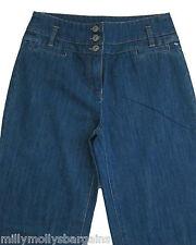 New Womens Blue NEXT Jeans Size 10 8 Long Regular