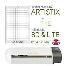 Artistix Carrier Sheet Cutting Mat Silhouette Lite SD & Craft Robo Pro Cards Cut