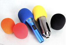 3.5CM Hole Handheld Microphone Mic Grill Windshield Wind Shield Sponge Foam Case