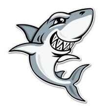 Shark Gray Car Vinyl Sticker - SELECT SIZE