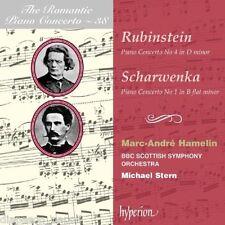 Rubinstein: Concerto for Piano n.4, Scharwenka: Concerto for Piano n.1 / Hamelin