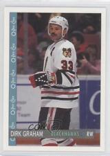 1992-93 O-Pee-Chee #210 Dirk Graham Chicago Blackhawks Hockey Card