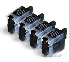 LC41Bk LC900Bk LC950Bk - 4 Black Compatible Ink Cartridges