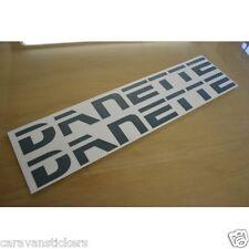 SWIFT Danette Caravan Name Sticker Decal Graphic - PAIR