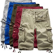 TREND uomo sportivo pantaloncini bermuda corti con tasche BREVE w30-w40 K21