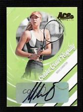 2006 Ace Authentics Heroes & Legends Gold /25 Maria Sharapova #CCR-1 Auto