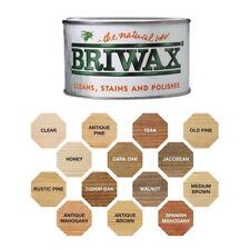 Briwax Original Wax Polish Rustic Pine Natural Wax Cleans and Polishes 400g