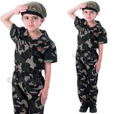 Kinder Soldaten Junge Kostüm Uniform Hero Schule Buch Woche Kostüm Rubies