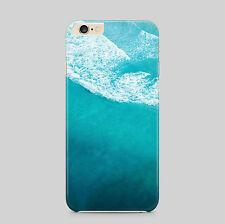 Aqua Acqua Blue Ocean Wave Telefono Custodia Per iPhone HTC Samsung Sony LG Huawei