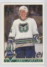 1993-94 Topps Premier #485 Chris Pronger Hartford Whalers Hockey Card