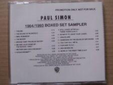 PAUL SIMON,1964/1993 BOXED SET SAMPLER(16 songs) cd m-/m- warner bros promo USA