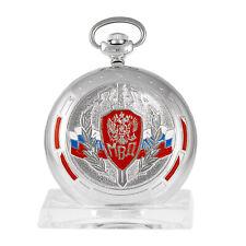 Molnija 3602 Montre de Poche Mwd Russe Mécanique Montre Kgb Dienstuhr Russie